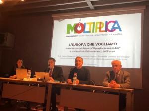 Foto Conferenza Giovannini su Europa 3